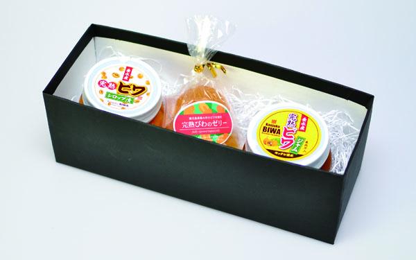 垂水産ビワづくしセット(3個入り)